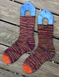 Ravelry: JennyLouQuilts' Wrecklessly Plain - Socks #11