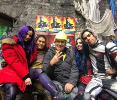 Here's what 'Descendants' Director Kenny Ortega had to say about Cameron Boyce during an interview with 'Good Morning America. Disney Descendants Cast, Descendants Pictures, Descendants 2015, Cameron Boys, Dove Cameron, Kenny Ortega, Booboo Stewart, China Anne Mcclain, Sofia Carson