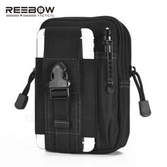 Tactical Molle Pouch EDC Utility Gadget Belt Sports Waist Bag with Cell Phone Holster Holder for iPhone 6 Plus Samsung Note ** AliExpress Affiliate's Pin.  Offer can be found online by clicking the image