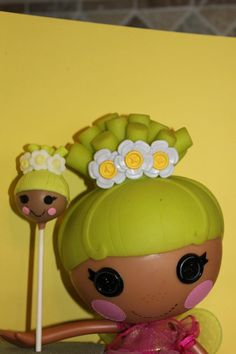 #Lalaloopsy #Cake pops - We totally love and had to share! Great #CakeDecorating by Kim