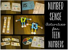 Love these number activities for those tricky teen numbers!
