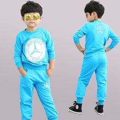 boy clothes sets kids sport suit tracksuit for boy