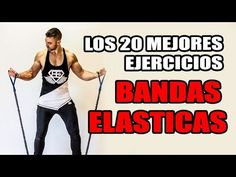 Los 20 mejores EJERCICIOS - BANDAS ELASTICAS - YouTube Gym Training Program, Trx Training, Weight Training, Gym Workouts For Men, Fun Workouts, At Home Workouts, Resitance Band Workout, Gym Boy, Pilates Video