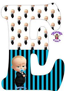 Creaciones Loly: Abecedario Alfabeto Completo Español Jefe en Pañales Baby Birthday Themes, Boy Birthday Parties, Baby Letters, Baby Shower Photo Booth, Baby Kit, Boss Baby, Lettering Design, Birthday Invitations, First Birthdays