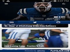 Indianapolis Colts Mobile  Android App - playslack.com , This is the official mobile app of the Indianapolis Colts. Make your Android mobile device a unique part of your game-day experience for Colts games. Want to catch breaking news of the team? See real-time statistics for every drive? Watch video-on-demand clips of press conferences and player interviews? Follow post-game blogs and pre-game previews of the matchups? Now, you can stay in touch with the Colts anytime, anywhere, on your…