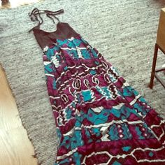 SALE A 3+1 Halter Maxi This is an A 3+1 halter maxi. It's in great condition. Boutique Dresses Maxi
