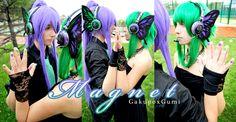 Alis-Kai as Kamui Gakupo and Tina-Jack as Gumi (Vocaloid). Magnet (Gakupo x Gumi) version. Photography by Hikari-Kanda and Yushu.