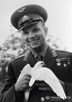 Yury Gagarin became famous all over the world. Less than a month after his space flight, Gagarin traveled abroad for the first time. The first man in space went on a so-called Peace Mission, visiting Czechoslovakia, Finland, the United Kingdom, Bulgaria and Egypt.
