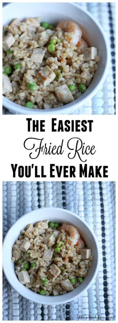 If you're crunched for time in the evening and are looking to try something new, this simple fried rice recipe is restaurant quality.