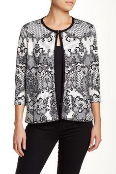 Scroll Ponte Jacket by Grayse on @HauteLook
