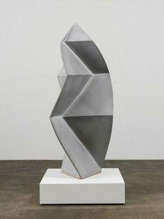 John Mason @ David Kordansky - Spear Form, Soft White, 1999.