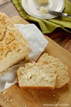Three Ingredient Beer Bread