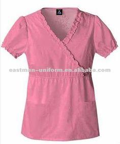 Cute Medical Scrubs, Nurse Scrubs, Scrub Suit Design, Housekeeping Uniform, Scrubs Uniform, Pink Shorts, Kids Wear, Short Sleeve Dresses, Tunic Tops