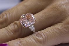 Rahaminov Diamonds Unveils Yellow Diamond Ring, Incredible Fancy Colors at JCK Luxury 2014 Yellow Diamond Rings, Diamond Cuts, Yellow Diamonds, Pink Diamond Jewelry, Pink Diamonds, Pink Ring, Fancy Colored Diamonds, Pink Sapphire, 7 Carat Diamond Ring