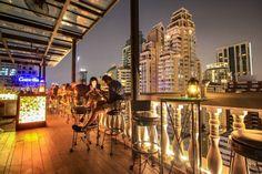 Top 10 Rooftop Bars in Bangkok: Die genialsten Skybars Sky Bar Bangkok, Hotels In Bangkok, Rooftop Bar Bangkok, Best Rooftop Bars, Bangkok Thailand, Thailand Travel, Beste Hotels, Skyline, City Of Angels