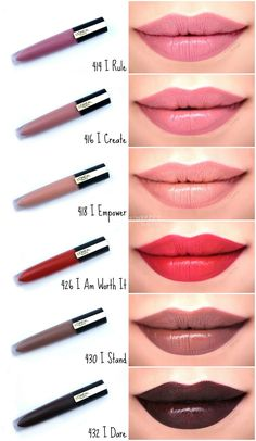 Makeup Hacks Online – Hair and beauty tips, tricks and tutorials Lip Gloss Colors, Lip Colors, Maybelline Lipstick, Revlon Lipstick Swatches, Lipstick For Fair Skin, Lipstick Tattoos, Best Lipsticks, Best Drugstore Liquid Lipstick, Lipsticks