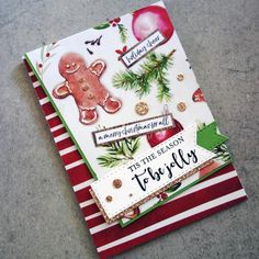 KaiserCraft Clear Stamps Mix & Match Sentiments - Traditional Christmas for sale online Christmas Paper Crafts, Christmas Scrapbook, Christmas Cards To Make, Xmas Cards, Christmas Decorations, Christmas Sentiments, Paper Crafts Origami, Handmade Tags, Cards For Friends