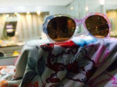 Sunglasses & Beach Robe