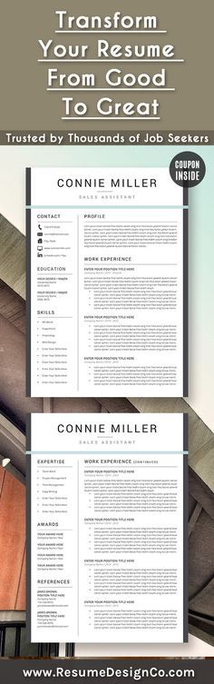 Transform your resume from good to great. Trusted by thousands of job seekers…