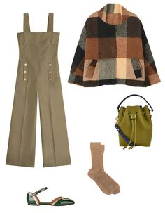 Five chic takes on the classic uniform that will win you sartorial brownie points, whether you have cookies in tow or not. Entirely chic, never twee—scout's honor. Cotton Jumpsuit, Cotton Skirt, Cotton Jacket, Aviator Jackets, Military Style Jackets, Newsboy Cap, Plaid Shorts, Military Fashion