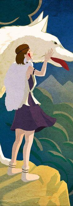 Princess Mononoke. This was a really good movie.