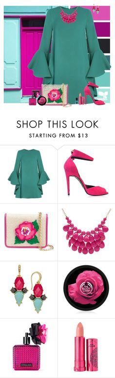"""""""Set 1837"""" by lapshi4ka ❤ liked on Polyvore featuring Seed Design, Pierre Hardy, Yazbukey, Alexa Starr, ABS by Allen Schwartz, Victoria's Secret, 100% Pure and Deborah Lippmann"""
