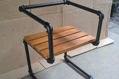 5 Industrial Style Pipe Chairs & How to Build Them Simplified ...