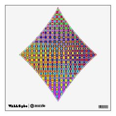Psychedelia Diamond 2 Wall Decal