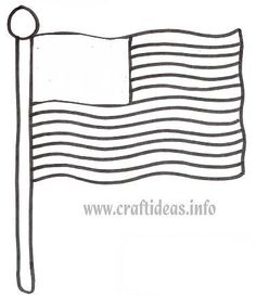 Patriotic holidays on pinterest fourth of july memorial for Flag of alaska coloring page
