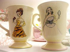 Disney princesses teacups....want!