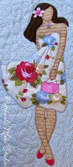 Interesting Choose the Right Sewing Machine Ideas. Cleverly Choose the Right Sewing Machine Ideas. Bag Patterns To Sew, Applique Patterns, Applique Quilts, Applique Designs, Quilt Patterns, Applique Ideas, Pdf Patterns, Creeper Minecraft, Embroidery Designs