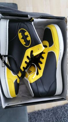 Got these Batshoes, I'm 22 and I don't care