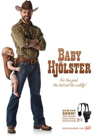 Baby hip holster