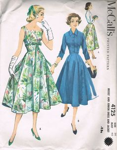 Vintage McCall's Sewing Pattern 4172 Dress by BusyBeaverBoutique, $20.00...I just love this dress!
