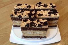 Karamelovo-snehové rezy, recept | Tortyodmamy.sk Tiramisu, Cake, Ethnic Recipes, Kuchen, Tiramisu Cake, Torte, Cookies, Cheeseburger Paradise Pie, Tart