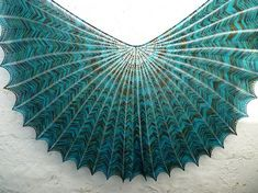 Stunning! Ravelry: Hypernova - Shawl and Shawlette pattern by Arlene's World of Lace