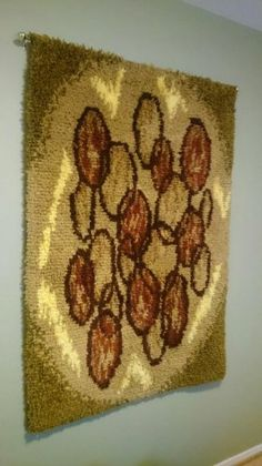 Rya Rug, Creative Textiles, Floor Rugs, Flooring, Wall, Weaving Looms, Eggs, Wood Flooring, Walls