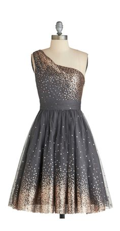 Stardust dress. maybe with slightly different color shade so it's not so leopard-print reminiscent