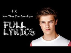 Martin Garrix - Now That I've Found You - Lyrics (feat. John & Michel) [Lyric Video] - YouTube