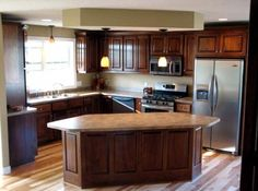 Hardwood Floors In Kitchen | Kitchen Hardwood Flooring Design for Timeless Style - Home Interior ...