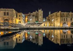 Cospicua sparkles at night! MALTA, ISLAND OF PLEASURE.