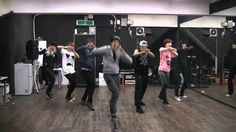 Infinite - Paradise mirrored dance practice