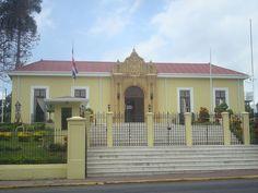 La Casa Amarilla, sede el Ministerio de Relaciones Exteriores del país. ◆Costa Rica - Wikipedia http://es.wikipedia.org/wiki/Costa_Rica #Costa_Rica