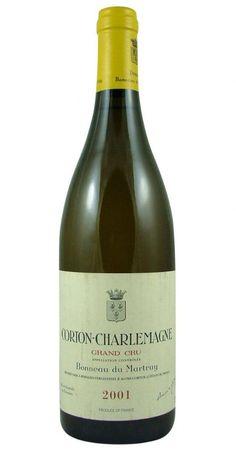 Corton-Charlemagne Grand Cru 2001 Bonneau du Martray from Burgundy Wine Cellar.