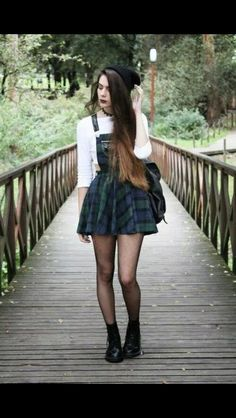 #grunge #outfit #black #rock #love #girl #alternative #style
