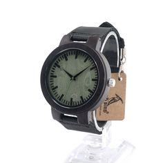 $30.99 (Buy here: https://alitems.com/g/1e8d114494ebda23ff8b16525dc3e8/?i=5&ulp=https%3A%2F%2Fwww.aliexpress.com%2Fitem%2FNew-Arrival-Handmade-Wood-Wristwatch-Black-reather-Quartz-Mens-Watch-Cool-Dress-Clock-Erkek-Saat-2016%2F32673296654.html ) BOBO BIRD C25 Handmade Wood Wristwatch Black Leather Quartz Mens Watch with Green Second Erkek Saat 2016 for just $30.99