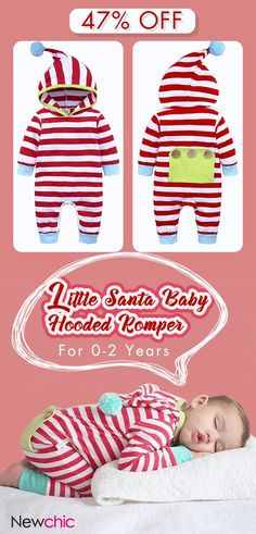 US  16.99 Striped Cotton Unisex Baby Long Sleeve Romper Jumpsuit Outfits  Clothes For 6855fa835