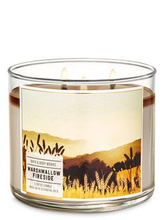 Marshmallow Fireside 3-Wick Candle | Bath & Body Works