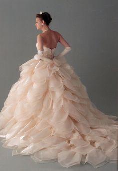 Pink floral princess Dress