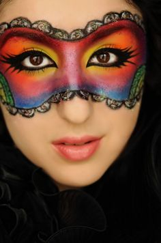 Colourful mask